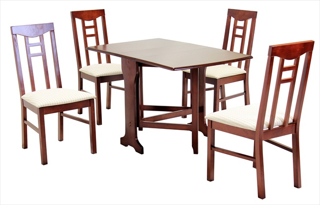 Liverpool Gateleg Table & 4 Chairs