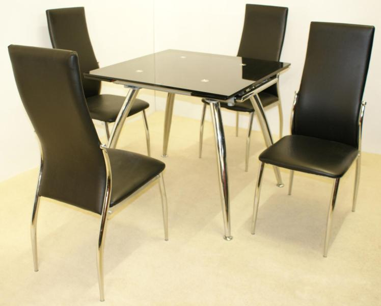 Magna Extending Table & 4 Chairs