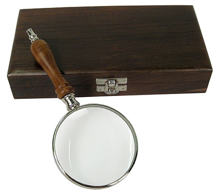 Magnifier Glass With Box