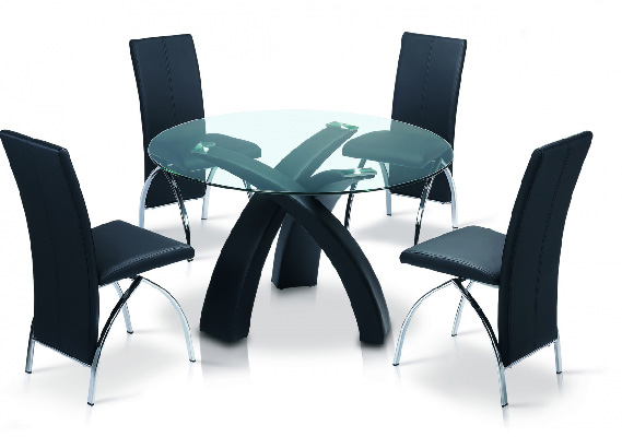 Marston Glass Top Dining Set