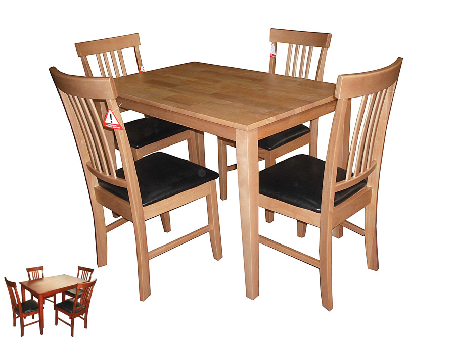 MASSA TABLE & 4 CHAIRS