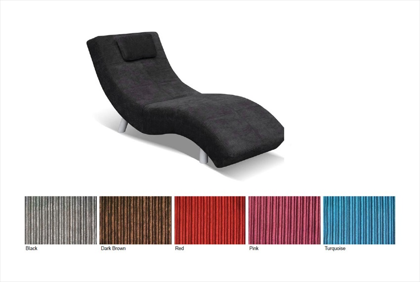 Monroe Fabric Chaise Lounge