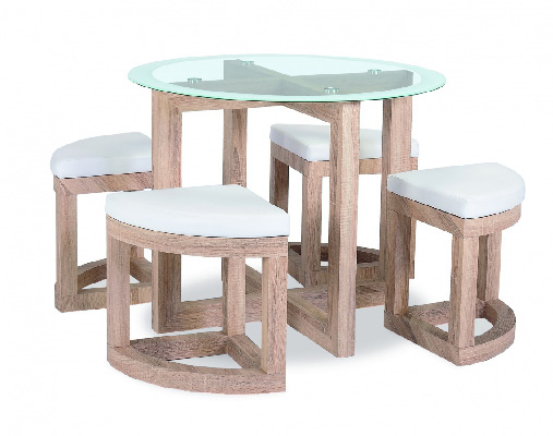 Quarry Glass Top Dining Set