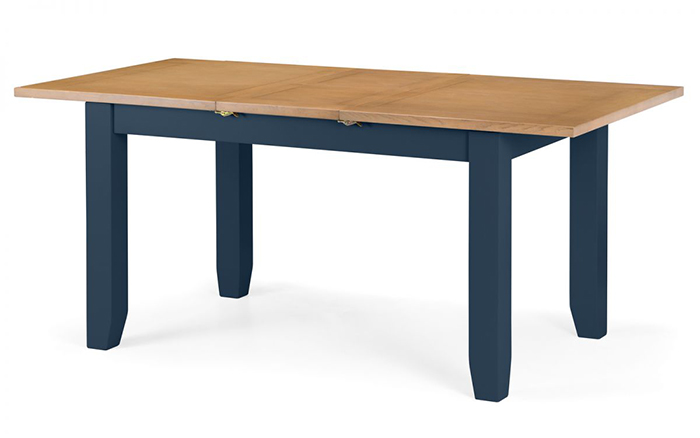 Richmond Extending Dining Table Midnight Blue