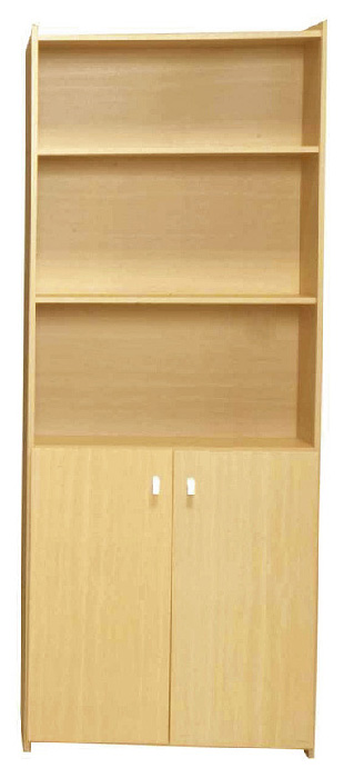 Santos Bookcase With Doors