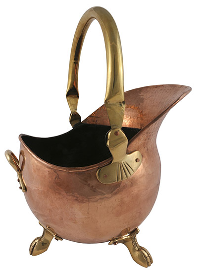 Solid Copper Imperial Scuttle