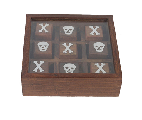 Skull Themed Tic Tac Toe