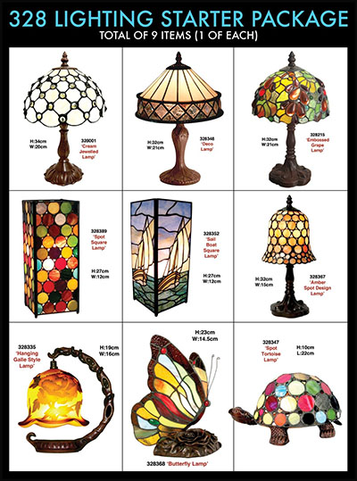 Tiffany Lamp Starter collection