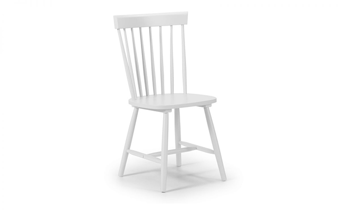 Torino White Dining Chair
