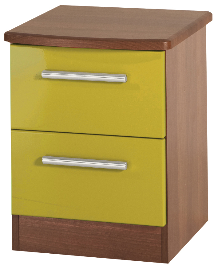"KNIGHTSBRIDGE ""HI/GLOSS"" 2 DRAWER LOCKER - Click Image to Close"