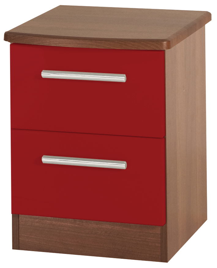 "KNIGHTSBRIDGE ""HI/GLOSS"" 2 DRAWER LOCKER"