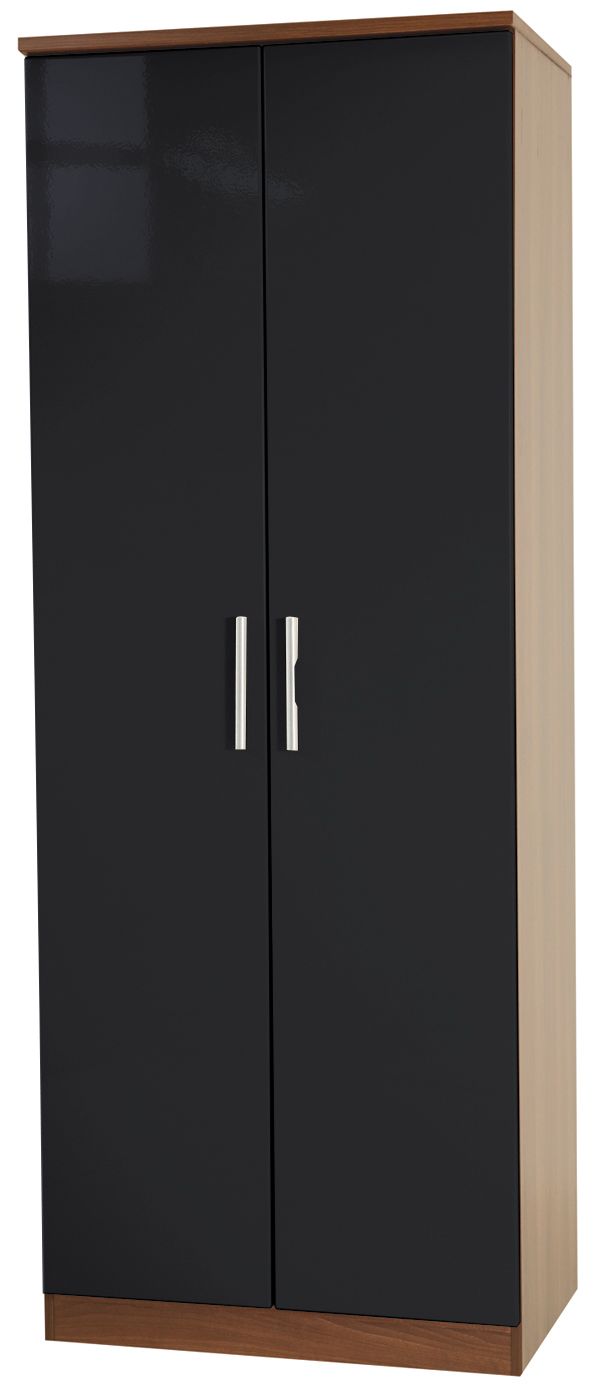 "KNIGHTSBRIDGE 30"" (HI/GLOSS) WARDROBE - Click Image to Close"