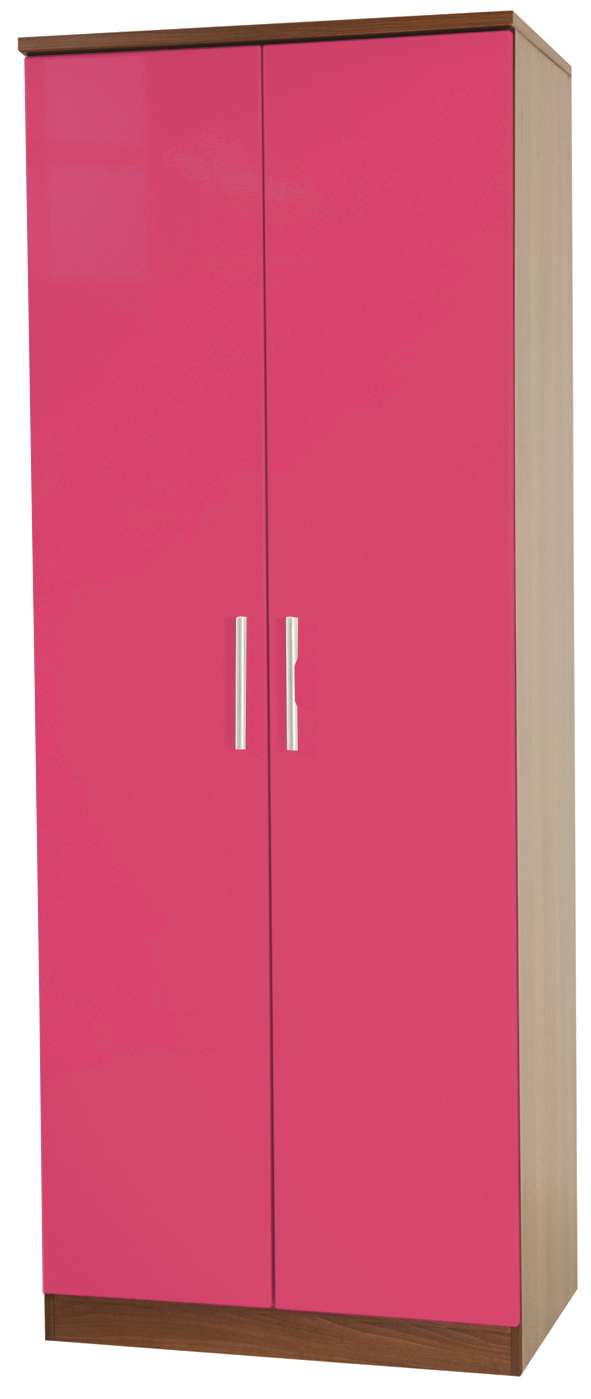 "KNIGHTSBRIDGE 30"" (HI/GLOSS) WARDROBE"