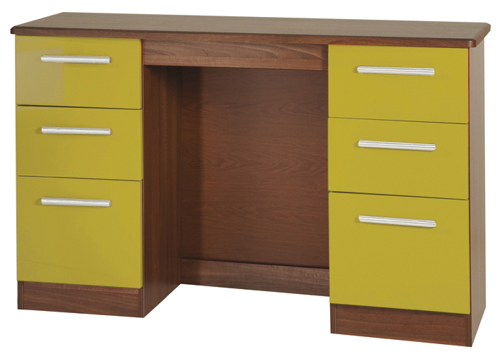 KNIGHTSBRIDGE (HI/GLOSS) 3 DRAWER BEDSIDE