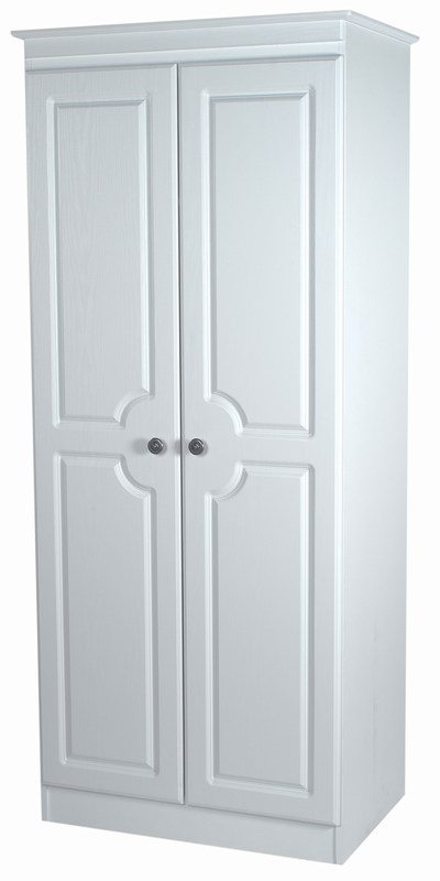 """PEMBROKE"" RANGE CLOSE UP DRAWER FRONT (WHITE FINISH) - Click Image to Close"