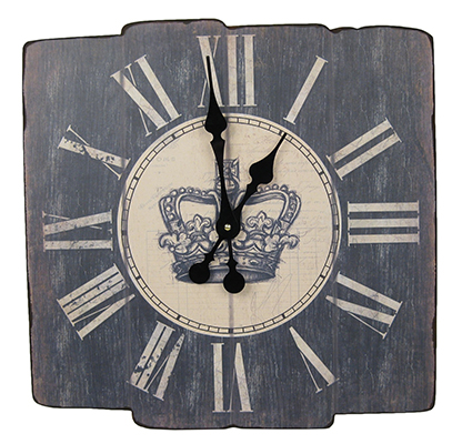 Wooden Clock Crown
