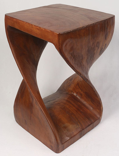 Wooden Stool Twist