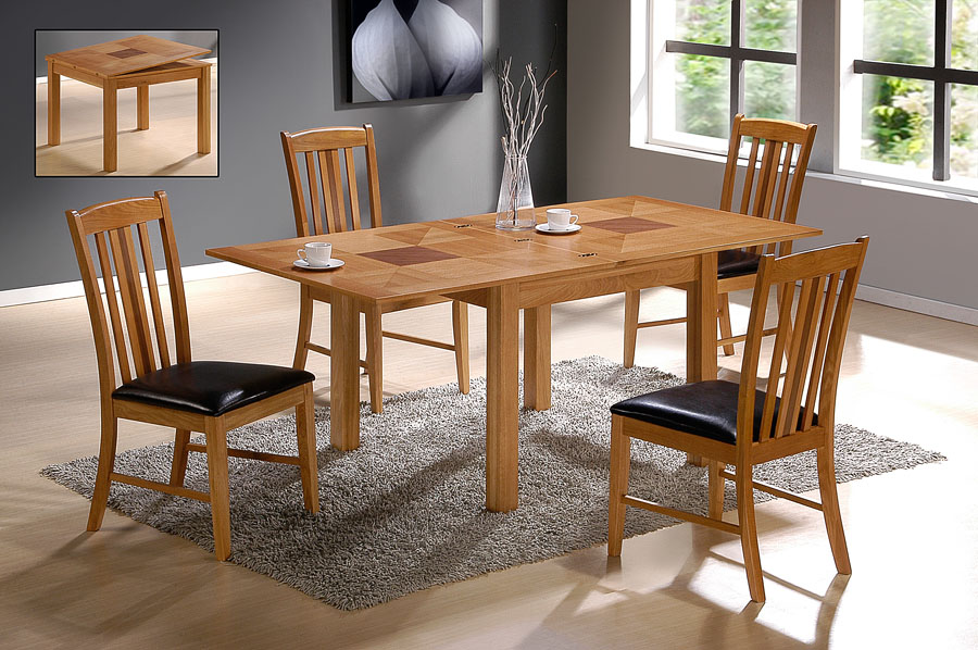 Yukon Extending Table & 4 Chairs